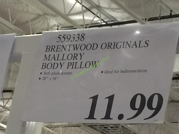 Brentwood Originals Mallory Body Pillow Costcochaser