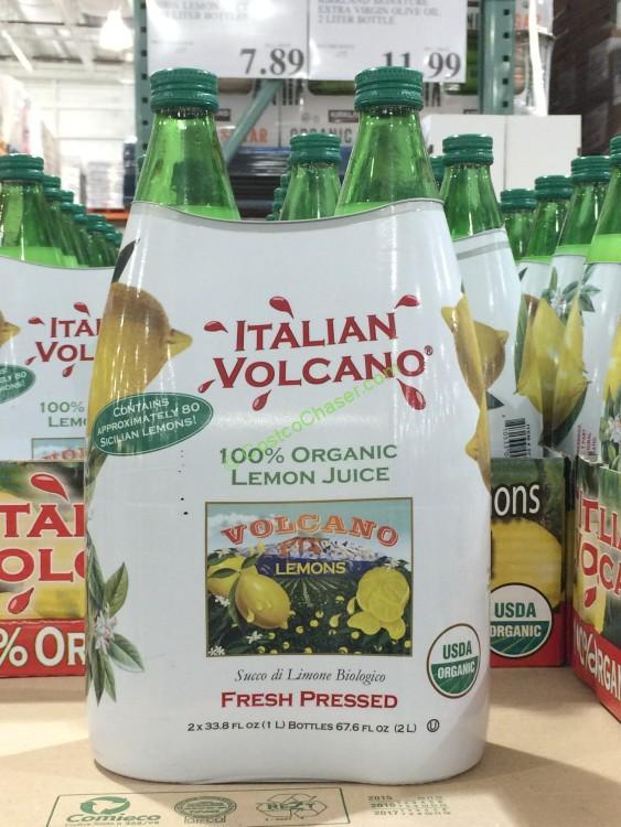 Organic 100% Lemon Juice 2/1 Liter Bottles