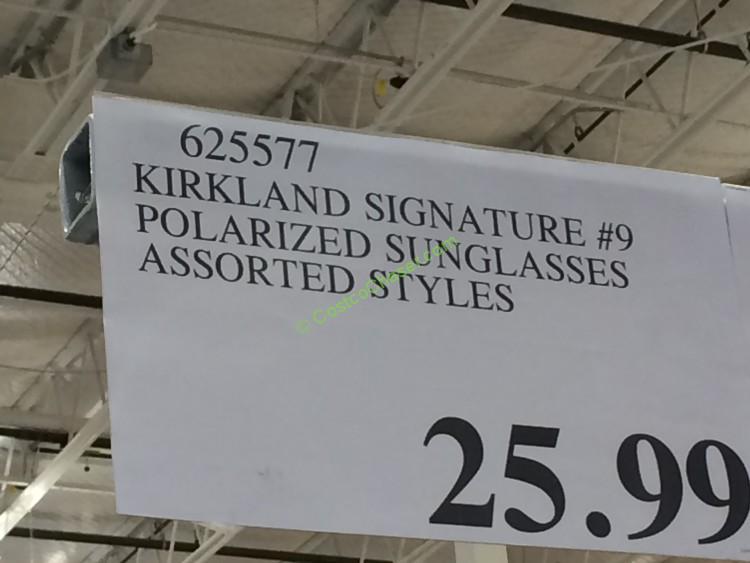 1893b14eea8 Costco Anti Glare Glasses. KIRKLAND Signature Polarized ...
