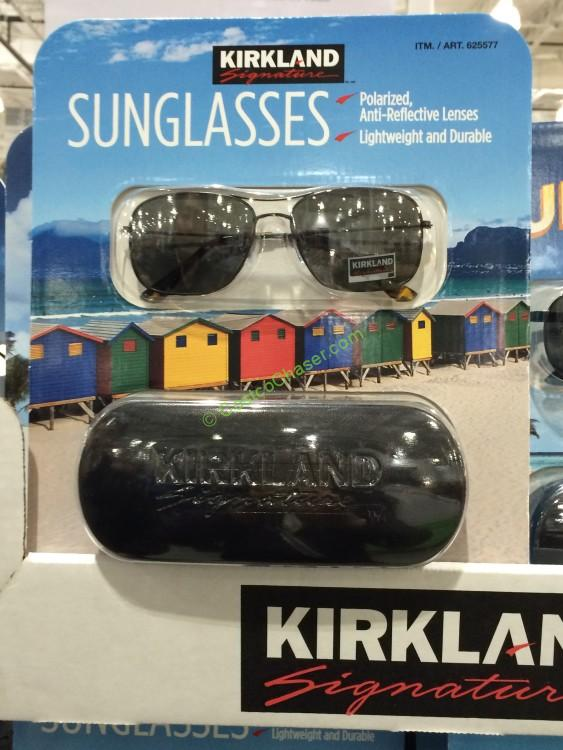 Kirkland Signature #9 Polarized Sunglasses Assorted Styles