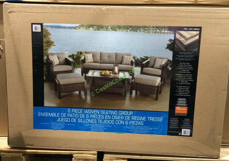 Agio International 6PC Deep Seating Set