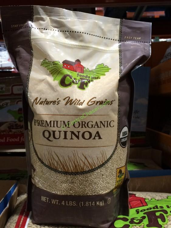 Organic C&F Quinoa 4 Pound Bag