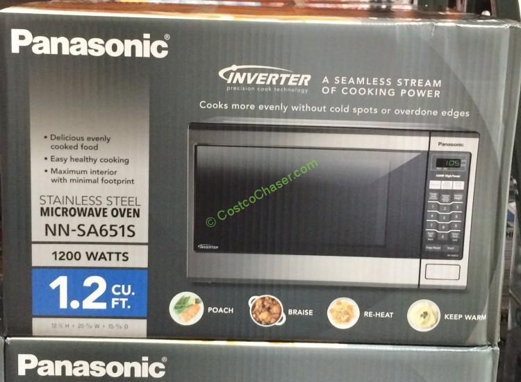 Panasonic NN-SA651S Microwave Oven 1.2 Cubic Foot