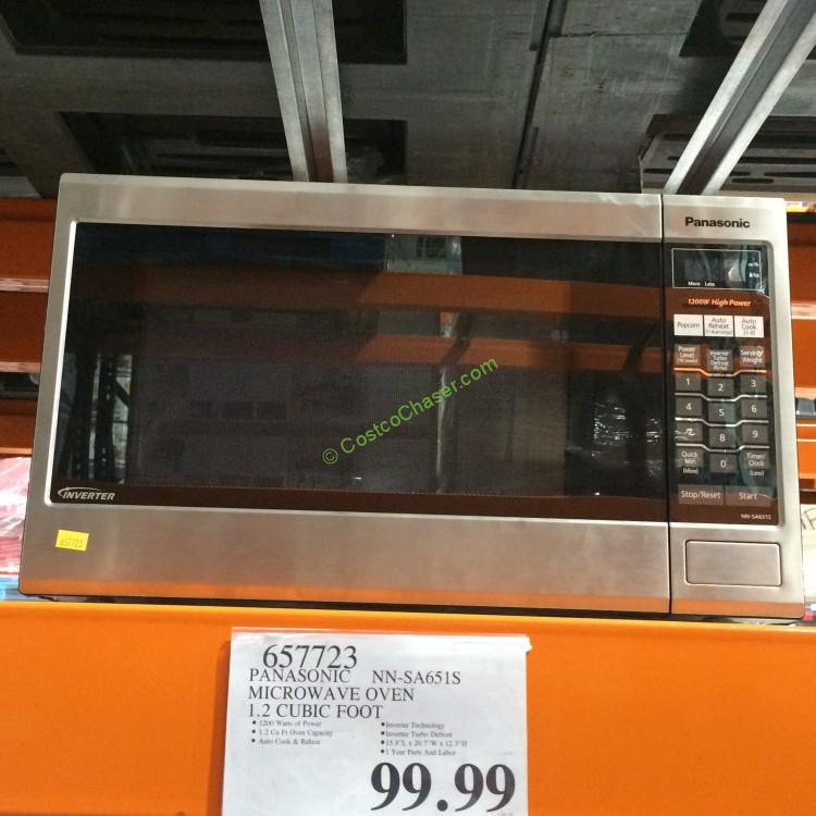Costco 657723 Panasonic Microwave Oven 1 2