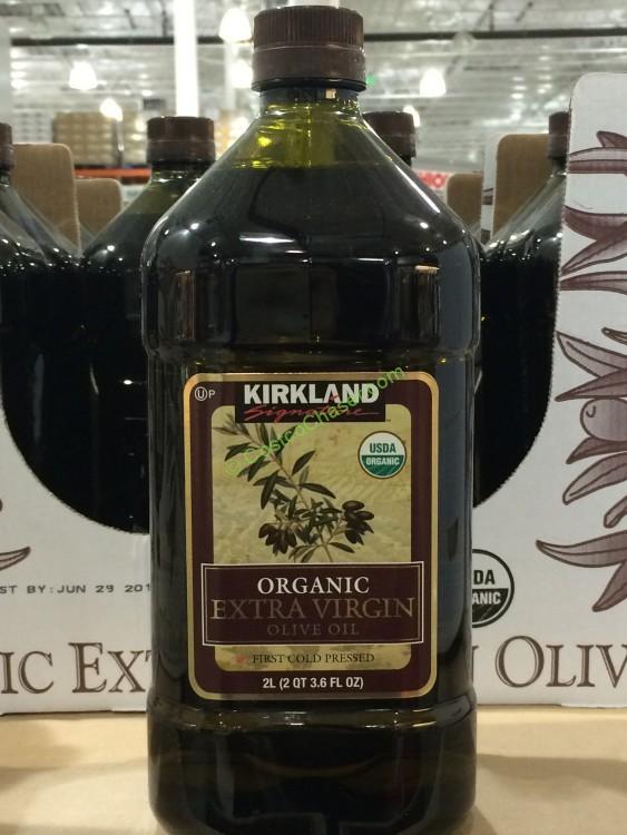 Kirkland Signature Organic Extra Virgin Olive Oil 2 Liters