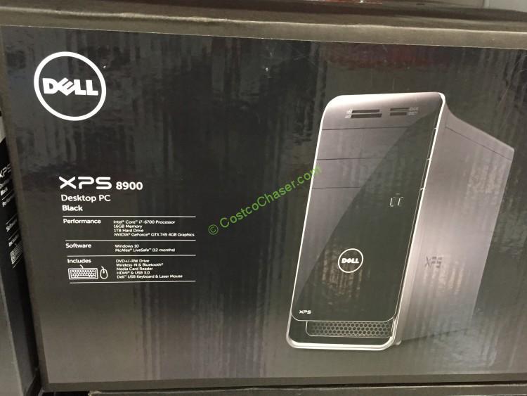 Dell XPS Desktop Computer Windows 10 X8900