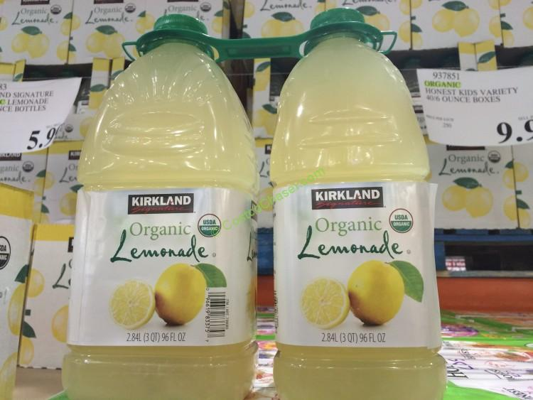 Kirkland Signature Organic Lemonade 2/96 Ounce Bottles