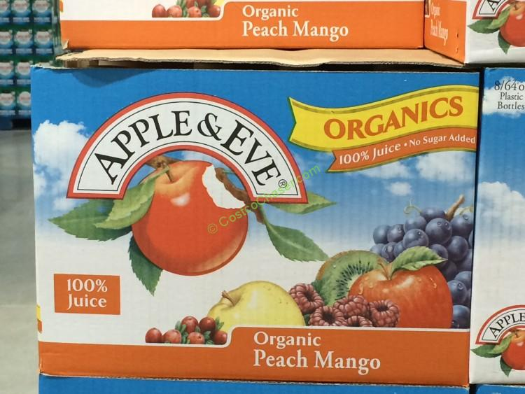 Apple & Eve Organic Peach and Mango Juice 2/65oz Bottles