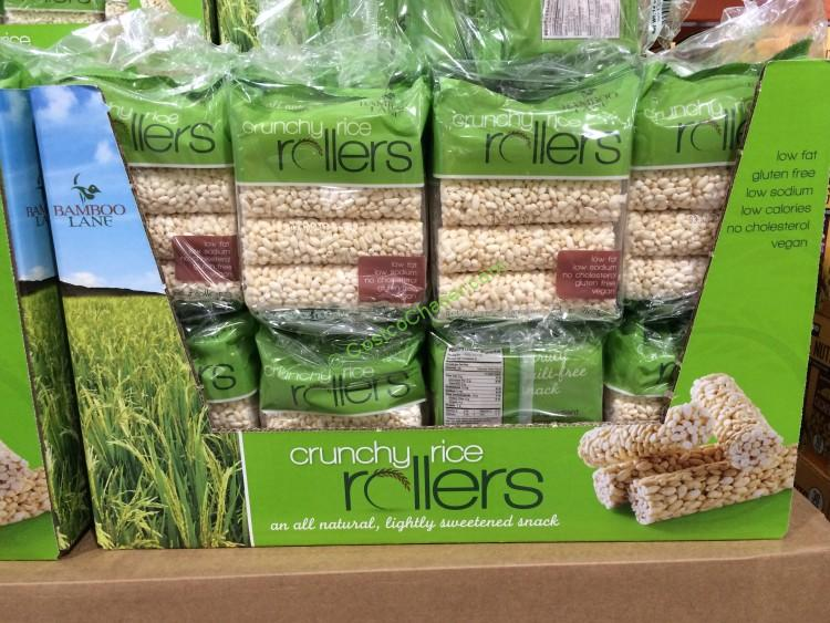 Bamboo Lane Crunchy Rice Rollers 4/8Count Bags