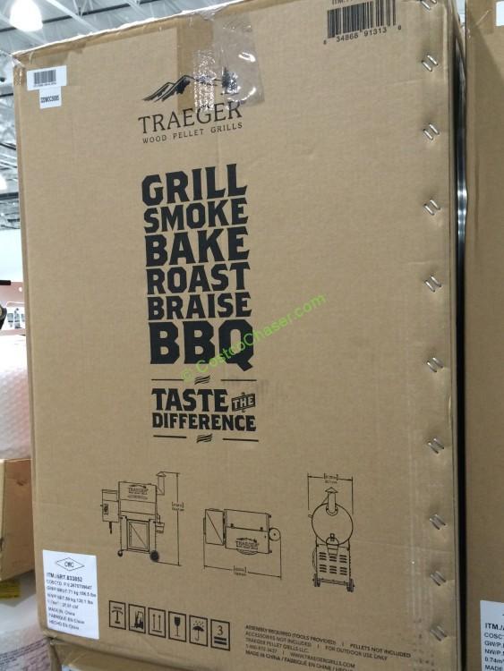 Traeger Century Wood Pellet Grill Bbq07c 01 Costcochaser