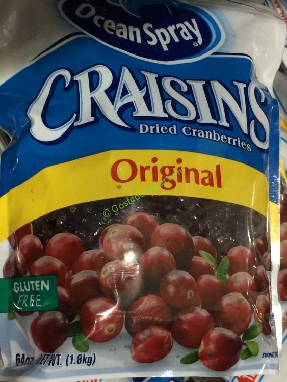 Ocean Spray Craisins (Dried Cranberries 64oz)