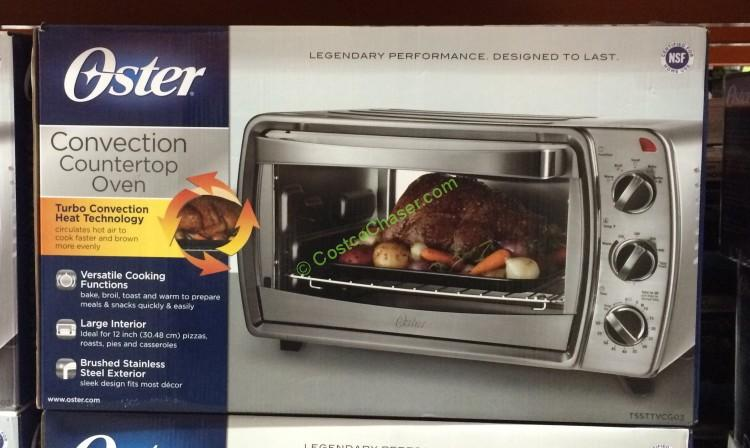 Oster 6-Slice Stainless Steel Convection Countertop Oven, TSSTTVCG03