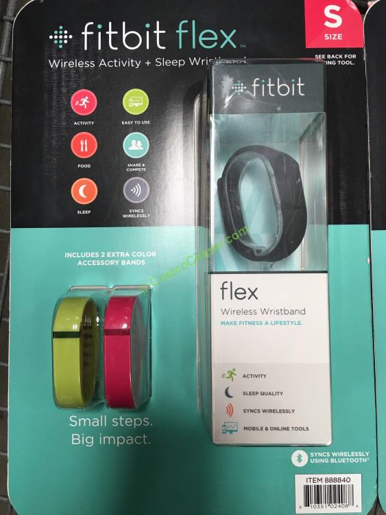 Fitbit Flex + 2 Bands Activity Tracker