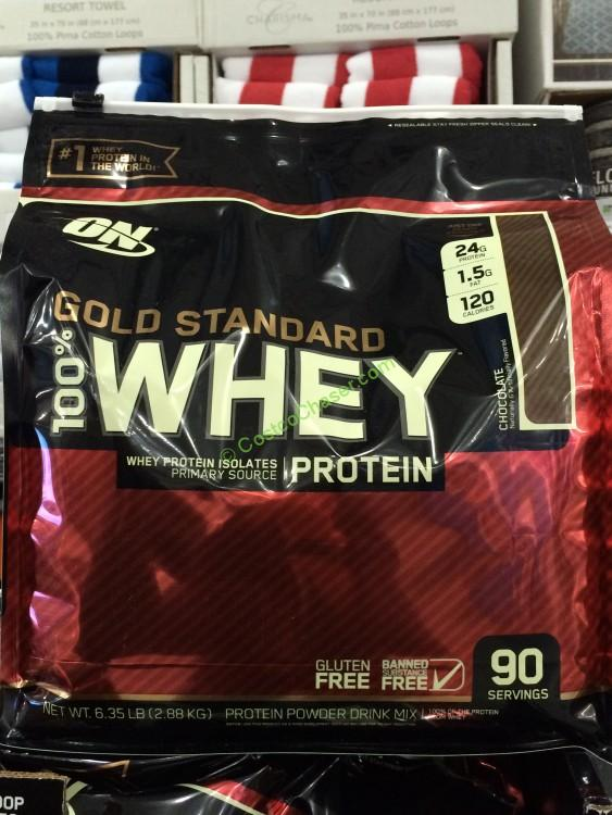 Optimum Nutrition Gold Standard 100 Whey Protein 90 Servings