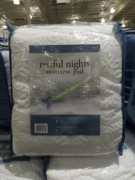 restful nights mattress pad Restful Nights Mattress Pad Queen – CostcoChaser restful nights mattress pad