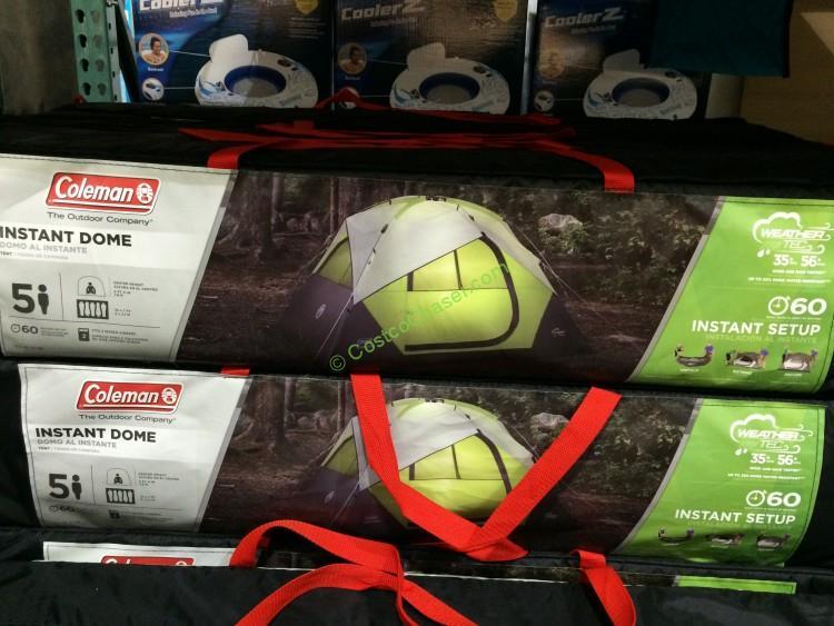 costco-919532-Coleman- 5-person -nstant-Dome-Tent-box & costco-919532-Coleman- 5-person -nstant-Dome-Tent-box u2013 CostcoChaser