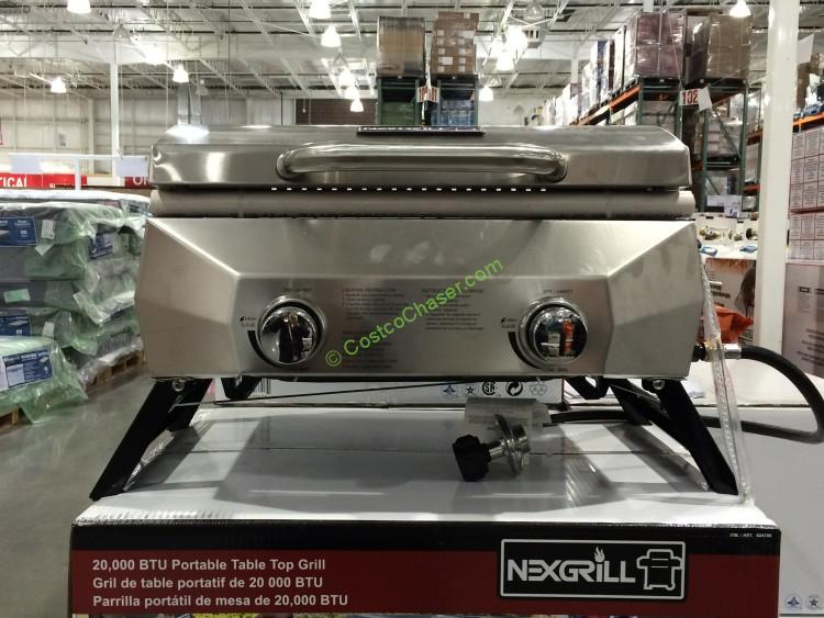 "Nexgrill 19"" Table Top Gas BBQ 20,000 Total BTU"