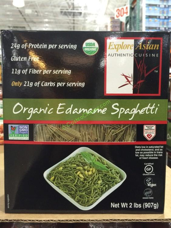 Explore Asian Organic Edamame Spaghetti 2 Pound Box