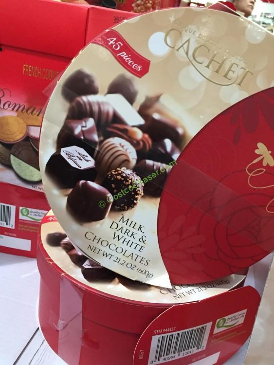 Cachet Belgian Chocolate 21.16 Ounces - Valentine's Gift Idea 2016