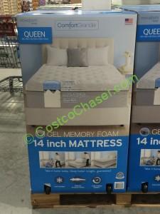 Costco 956398 Novaform Comfort Grande Queen Mattressgel