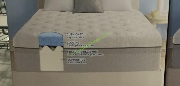 novaform comfort grande queen. costco-956398-novaform-comfort-grande-queen-mattressgel-memory-foam-part novaform comfort grande queen costcochaser