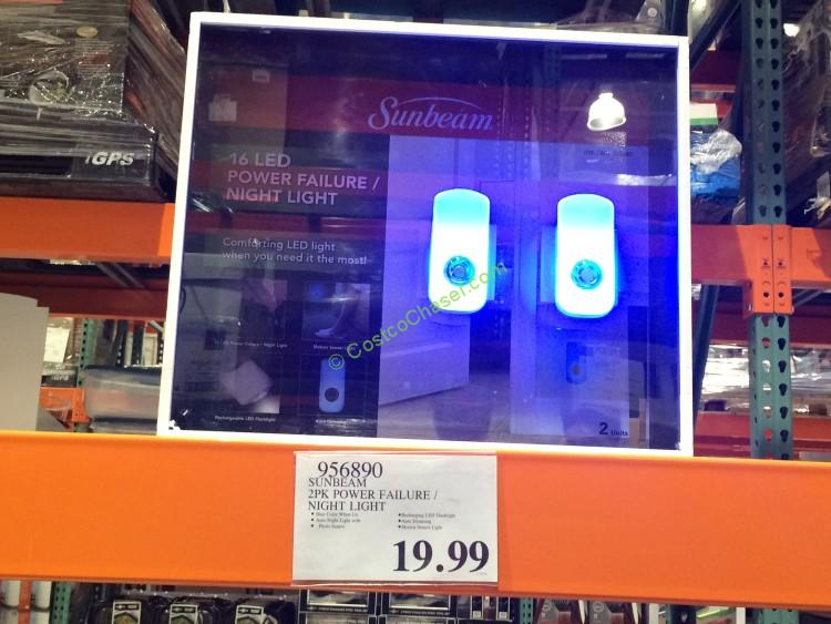 Sunbeam 2PK Power Failure Night Light – CostcoChaser