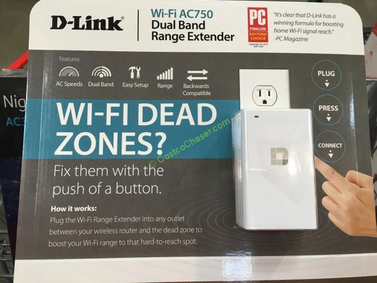 D-Link Wireless AC750 Range Extender