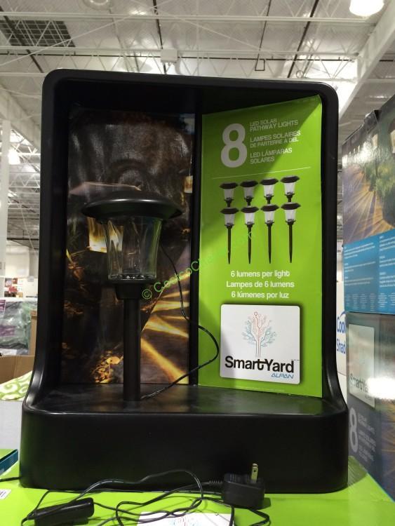 Smartyard Solar Led 13 8 H Pathway Lights 8 Pack