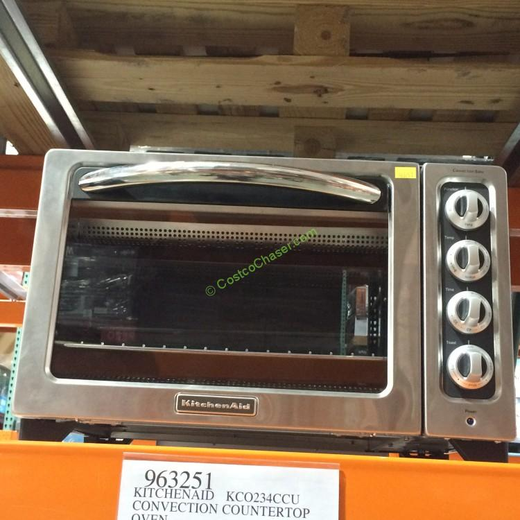 Countertop Oven Costco : KitchenAid KCO234CCU Convection Countertop Oven ? CostcoChaser