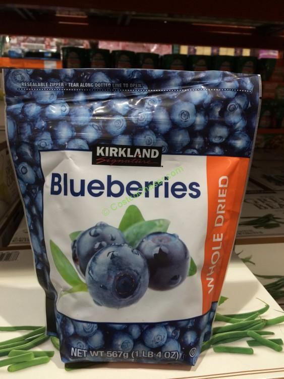 Kirkland Signature Dried Blueberries 20 Ounce Bag