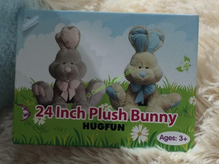 Hugfun Plush Sitting Bunny