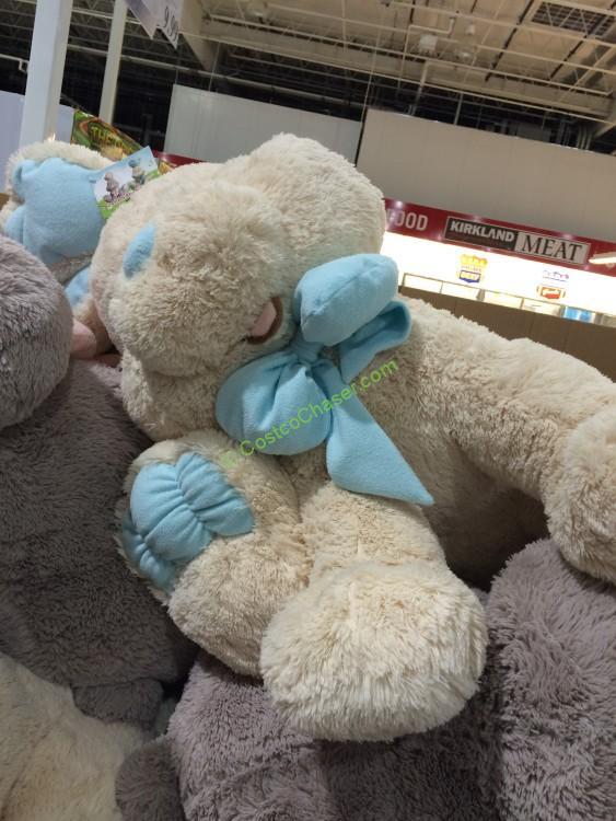 Blue Big Teddy Bear, Hugfun Plush Sitting Bunny Costcochaser