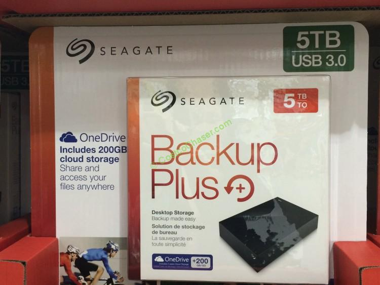 Seagate 5TB Backup Plus Desktop External Hard Drive