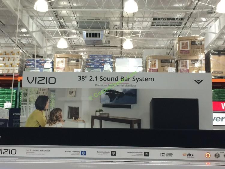 Vizio Sb3821 2 1 Channel Sound Bar With Wireless Subwoofer