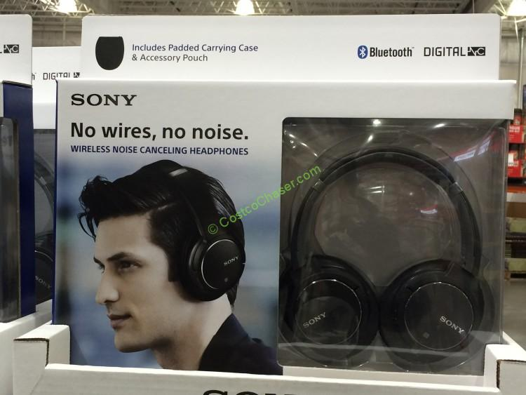 Sony Noise-Cancelling Bluetooth Headphones (MDRZX770DC )