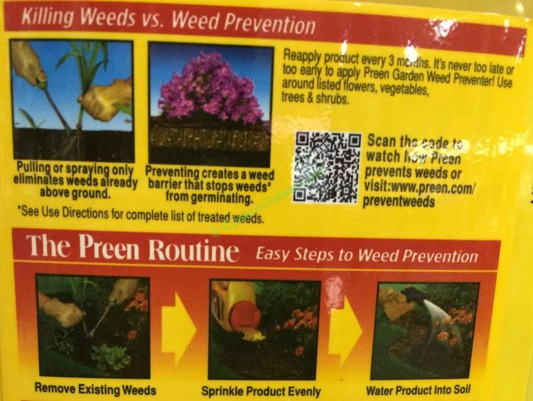 Preen weed preventer lb costcochaser for How to use preen in vegetable garden