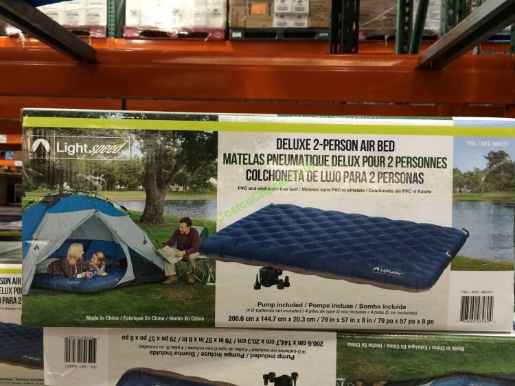 Lightspeed  2 Person Airbed PVC  Free