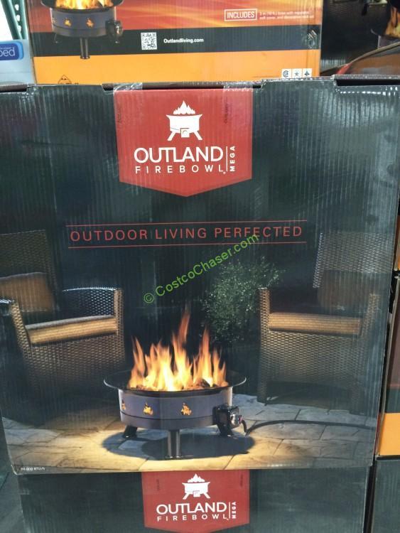 Outland Firebowl Mega, Model# FMPPC2B-4 - CostcoChaser on Outland Firebowl 21 Inch id=37659