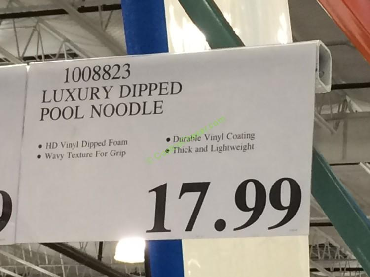 Fluid Luxury Dipped Pool Noodle Costcochaser