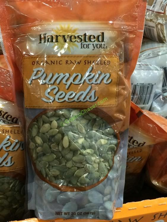 Organic Raw Pumpkin seeds 20 Ounce Bag