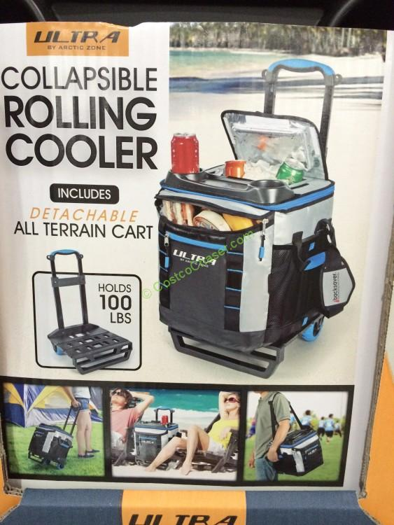 California Innovations Arctic Zone 58 Can Collapsible Cooler