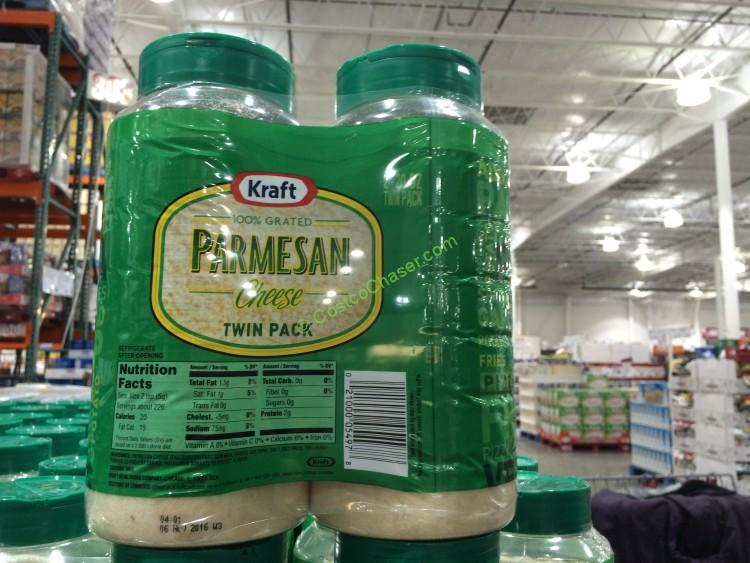 Kraft Grated Parmesan Cheese 2/20 Ounce Containers