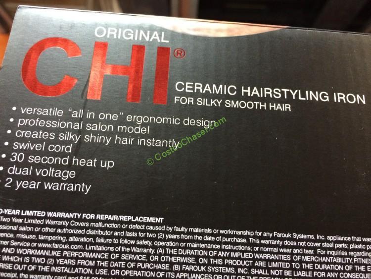 Chi Ceramic Flat Iron Costco Reversadermcreamcom