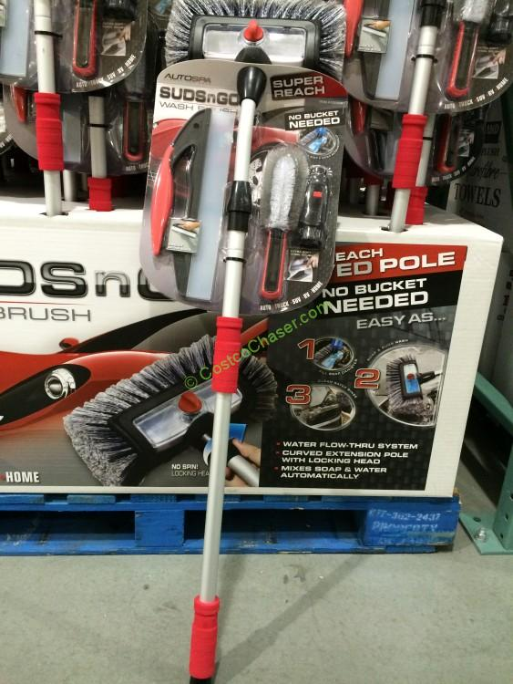 Costco 1024091 Carrand Suds N Go Wash Brush Costcochaser
