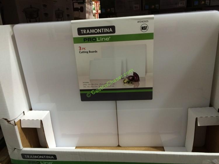 Tramontina Polyethylene 3-PK Cutting Boards