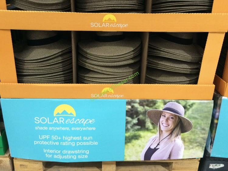 Solar Escapes Uv Protection Grasslands Hat Costcochaser