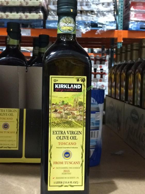 Kirkland Signature Tuscan Olive Oil 1 Liter Bottle
