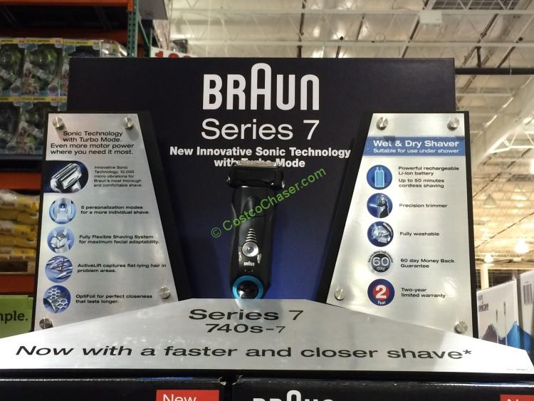 braun electric shavers costco