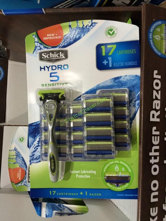 Schick Hydro 5 Sensitive Razor + 17 Cartridges