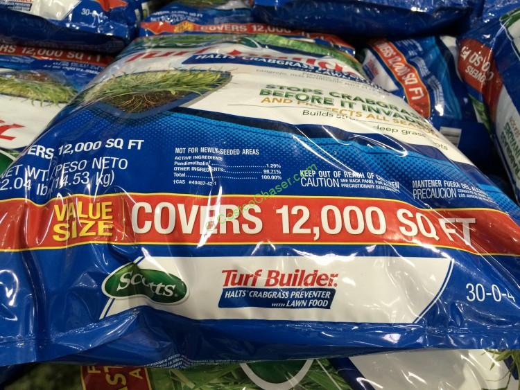 scotts turfbuilder plus halts fertilizer  u0026 crabgrass